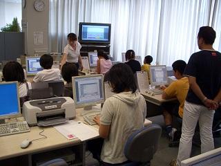 夏休みこどもパソコン教室開催のお知らせ(募集を締切りました)